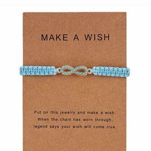 Infinity Love Make a Wish Bracelet Gift